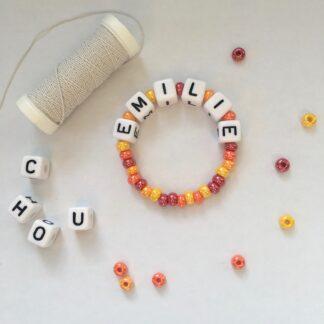 Kit bracelet petite fille - ON N'OUBLIE PAS LES GRANDES SOEURS ;-)